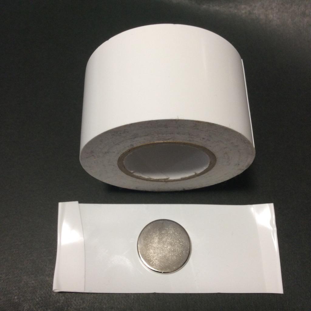 磁石+ビニールテープ