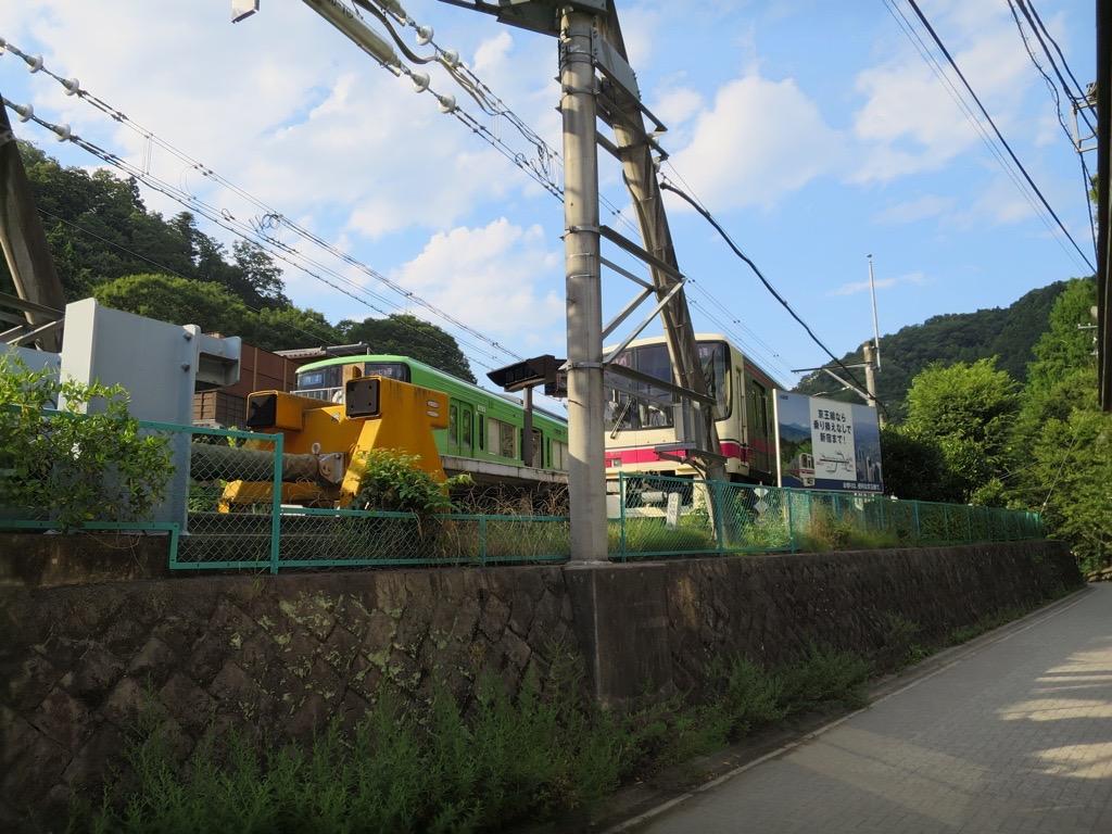 京王線高尾山口駅