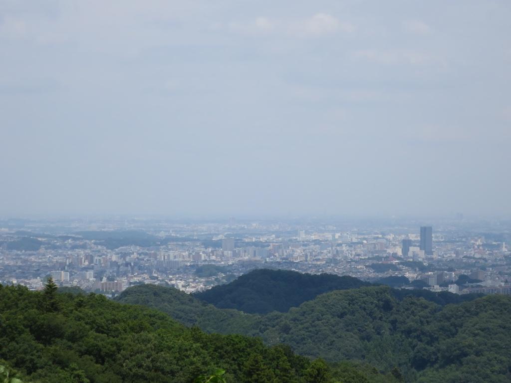 八王子駅方面の眺望