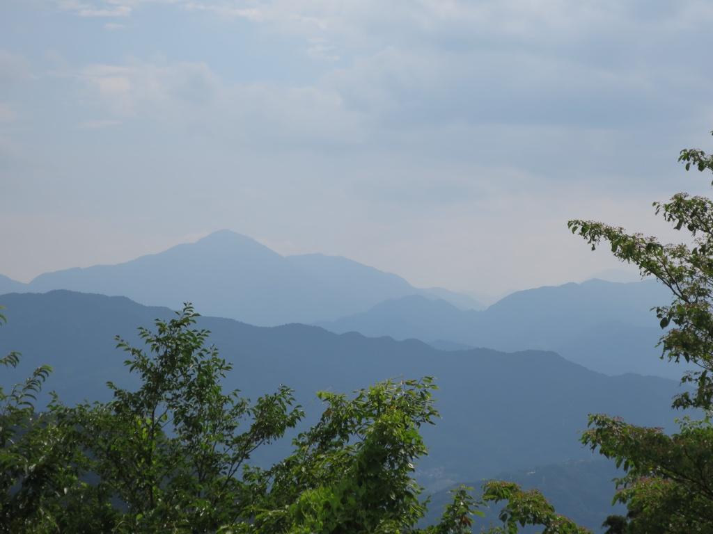 富士山方面眺望