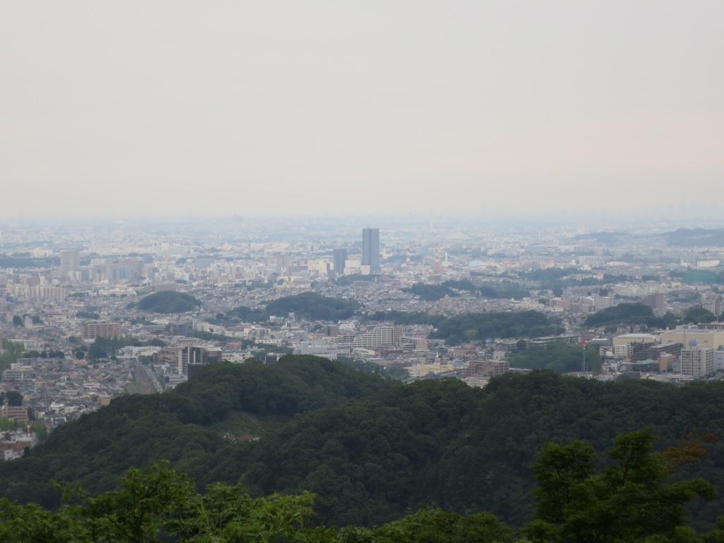 八王子駅付近眺望