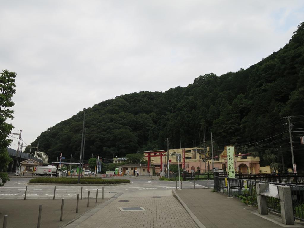 高尾山口駅風景