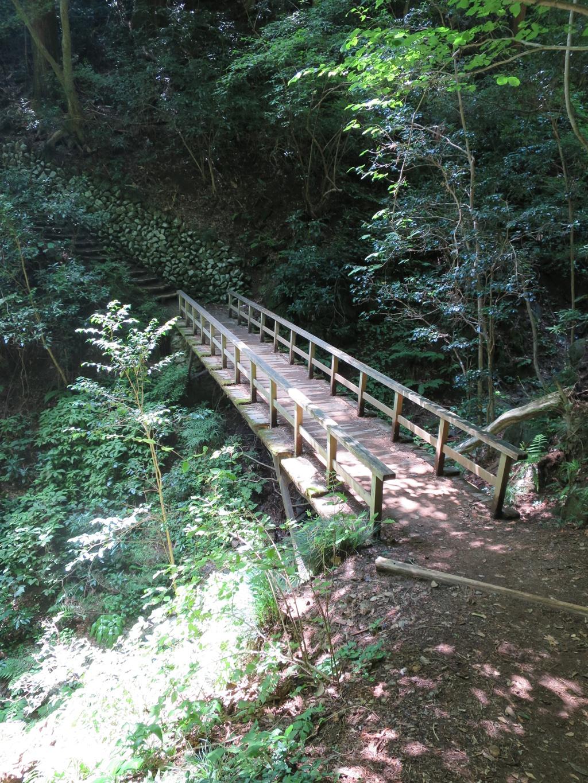 3号路の大きめの橋