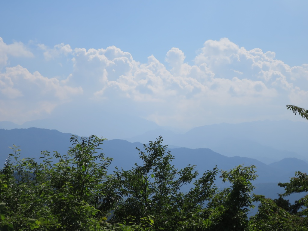 富士山方向の眺望