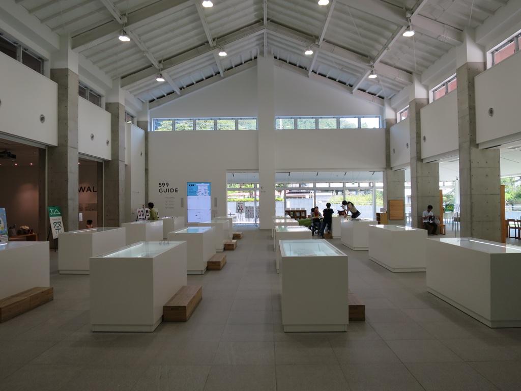 TAKAO 599 MUSEUM内部