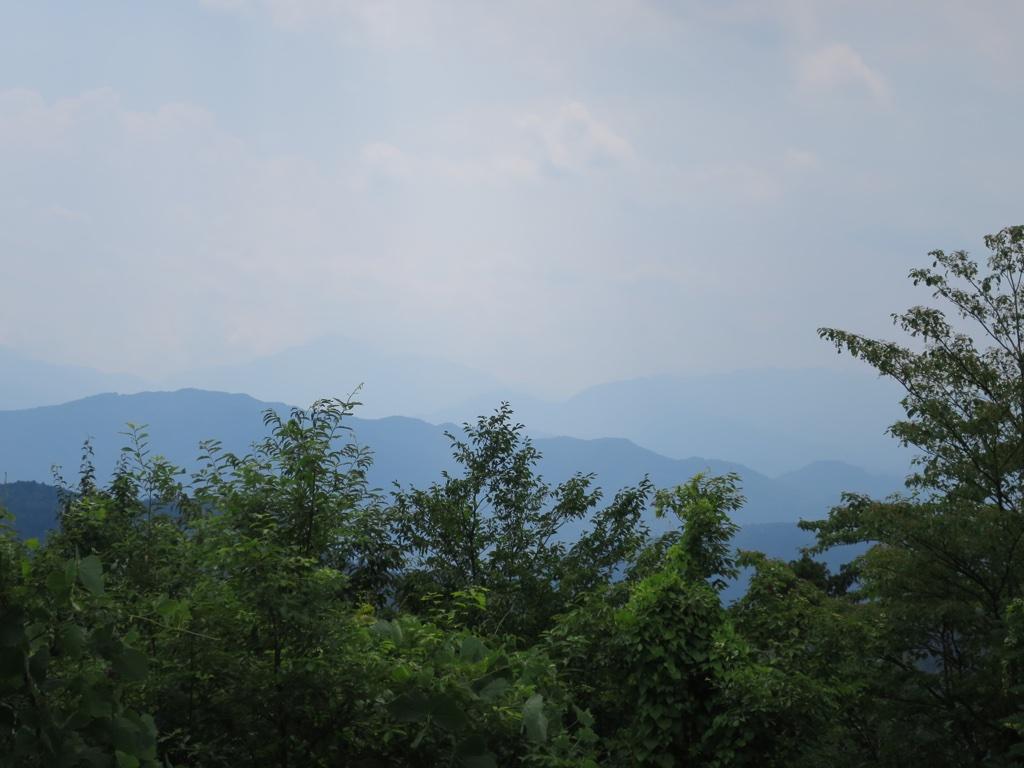 富士山方向眺望