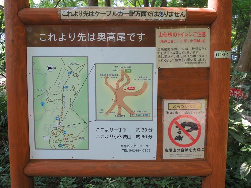 7差路案内地図