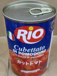 カットトマト缶詰