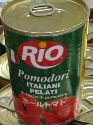 ホールトマト缶詰