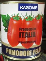 カゴメホールトマト缶詰