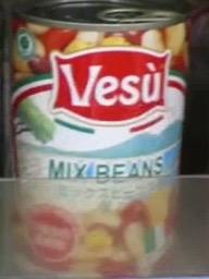 ミックスビーンズ缶詰