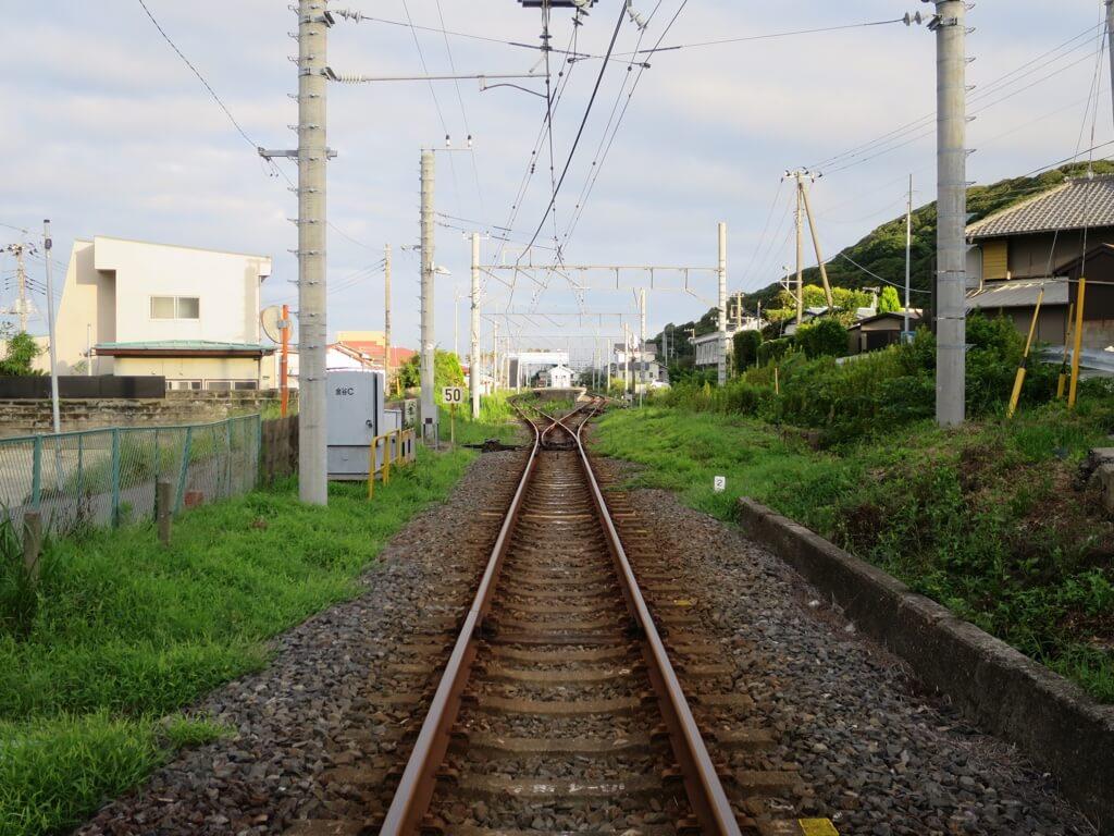 浜金谷駅分岐点