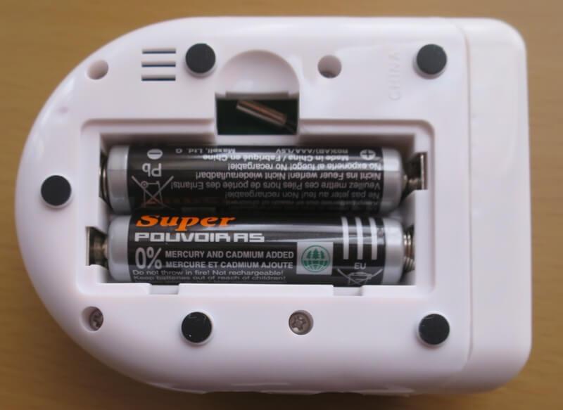 電池収納写真