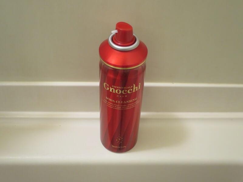 バスクリン社製の髪用炭酸ガススプレー