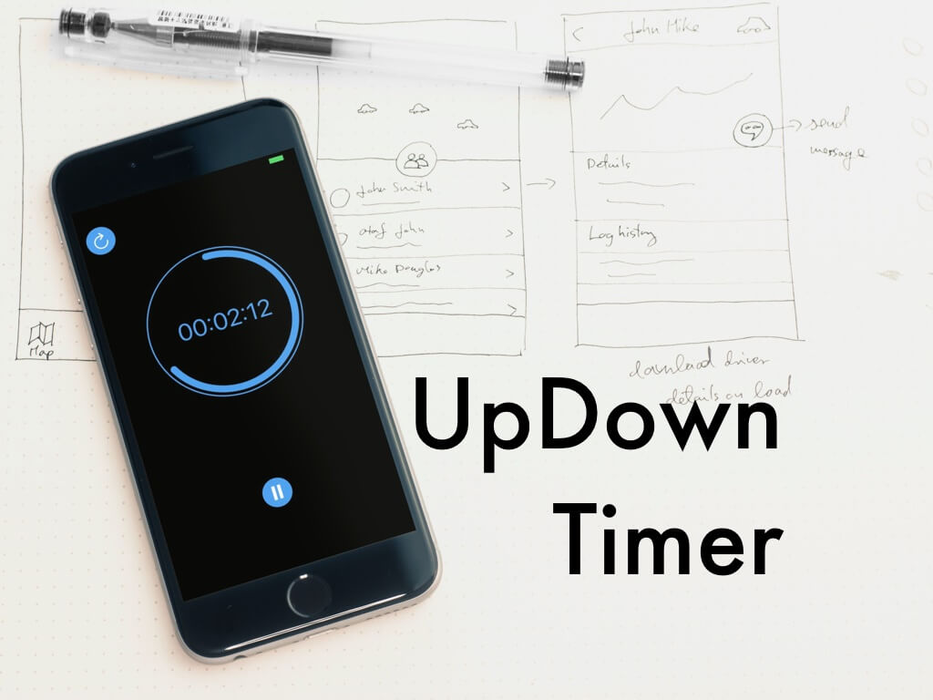 UpDown Timer title