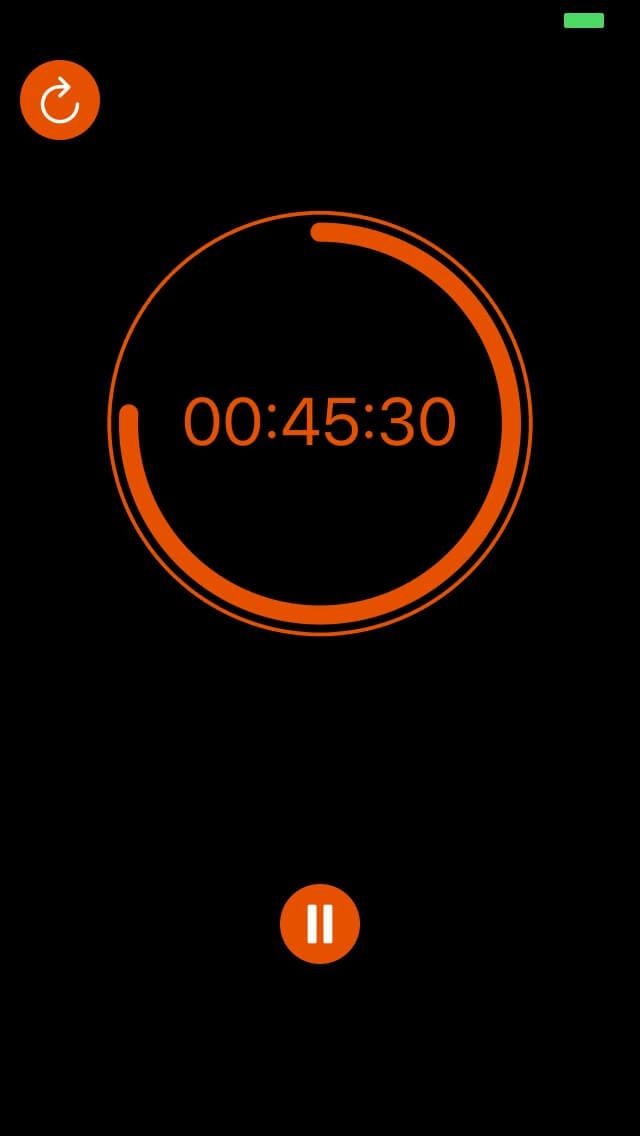 UpDown Timer 45 minutes